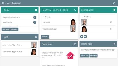 Family Organiser Screenshot
