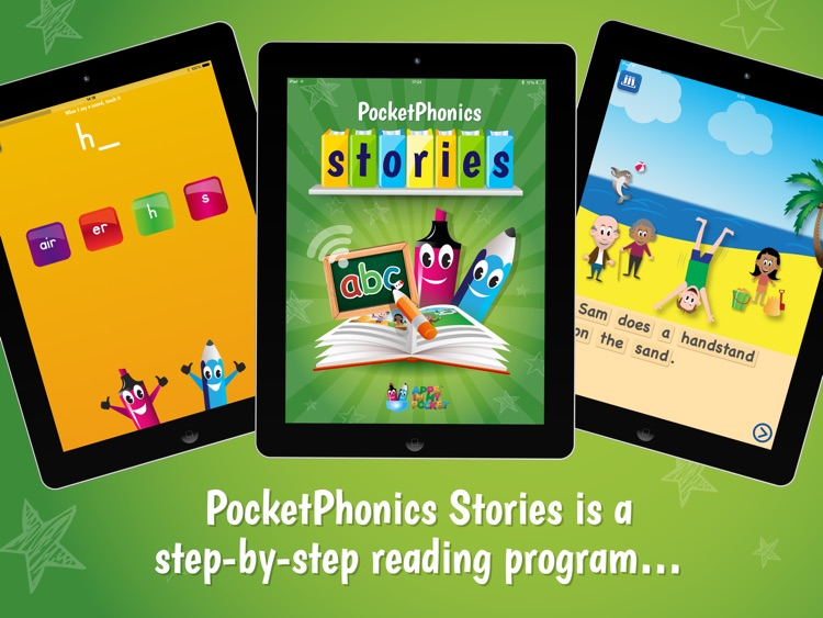 Pocket Phonics Stories (full) screenshot-0