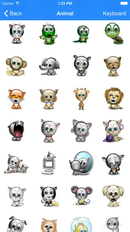Animated 3D Emojis Emoticons screenshot-3