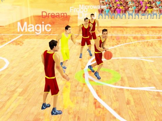 Ultimate Basketball Stars! HD Lite - Real Basketball Simulator screenshot one