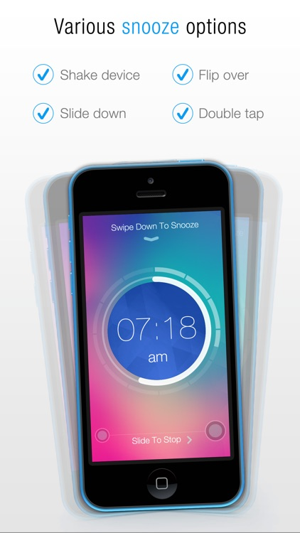 Gesture Alarm Clock screenshot-3