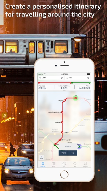 Prague Metro Guide and route planner