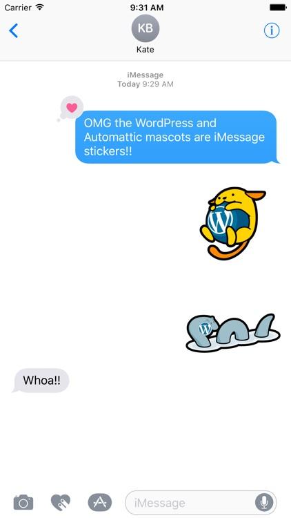 WordPress World (Stickers)