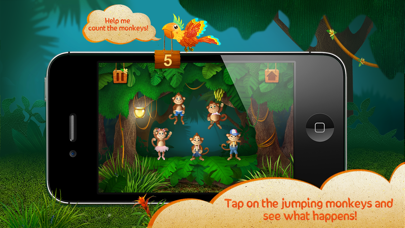 Kids Academy ∙ 5 little monkeys jumping on the bed. Interactive Nursery Rhyme. free Resources hack