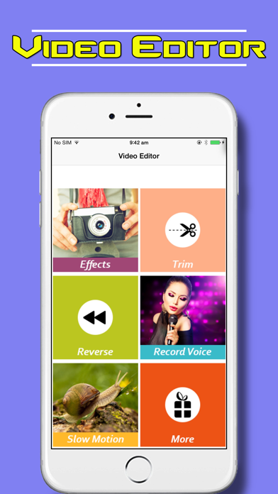 download Video Editor Master - Reverse Movie Maker along with Slow Motion Video in this photo camera app apps 4