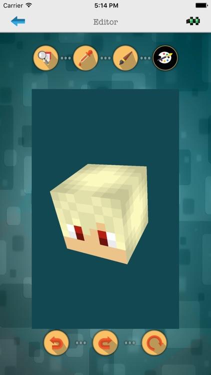 Custom 3D Boys Skin Editor for Minecraft PE+PC by Manish Sharma
