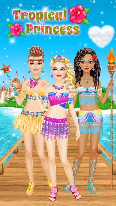 Tropical Princess - Makeup and Dressup Salon Game Screenshot 1