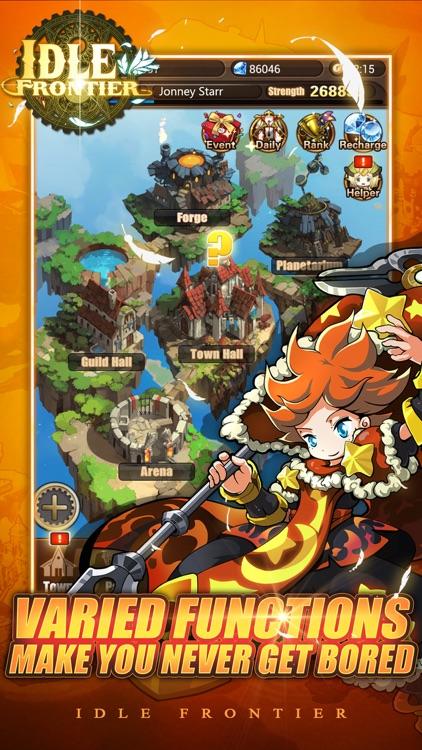 Idle Frontier-best rpg adventure games screenshot-3