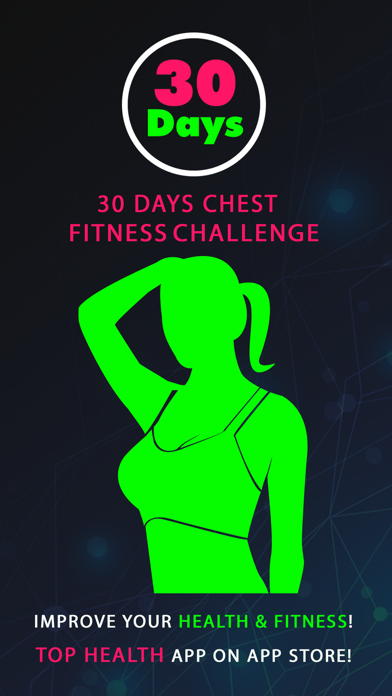 30 Day Chest Fitness Challenges ~ Daily Workout
