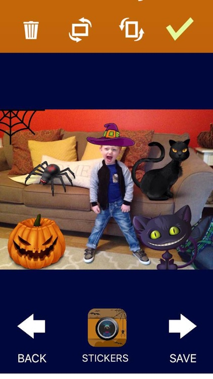 Halloween Clip Art - Photo Editor screenshot-4