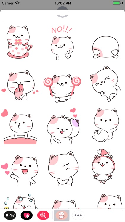 Baby Cat Animated Stickers