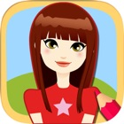 Paint and Color Top Models Games icon