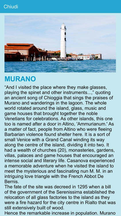 Venice lagoon chart screenshot-3