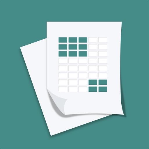 我的表格-简单便捷表格制作神器