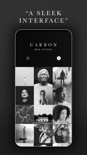 Carbon bw photo editor on the app store