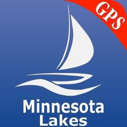 Minnesota Lakes Nautical Chart