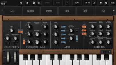 Minimoog Model D Screenshot