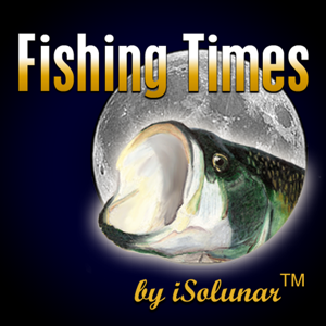 Fishing Times by iSolunar app