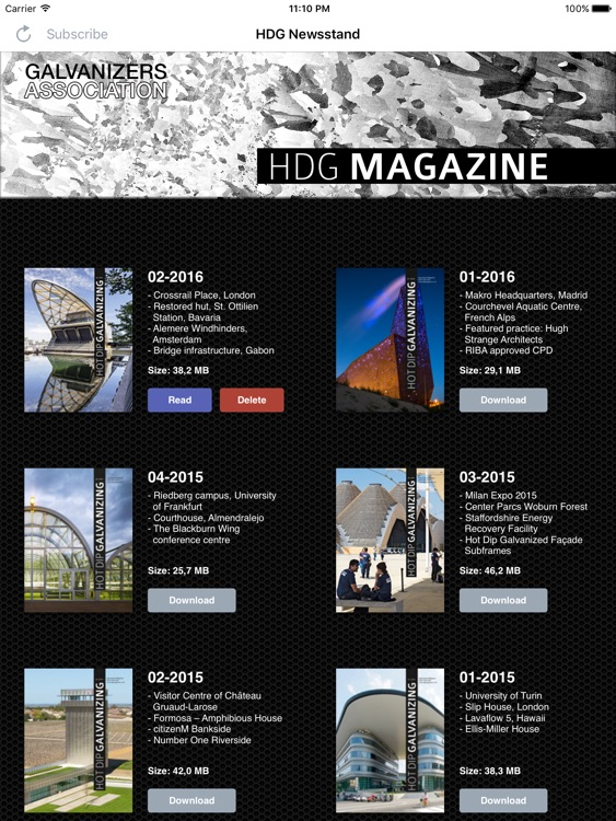 HDG magazine screenshot-0