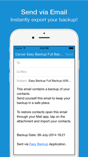 Easy Backup Pro . on the App Store