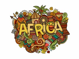 Show your pride for Africa with this country themed pack of stickers