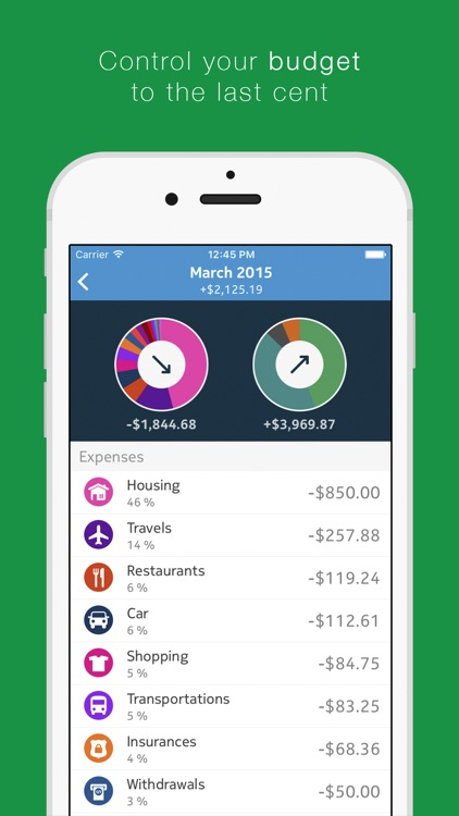 Cash - Track Your Spendings screenshot-3