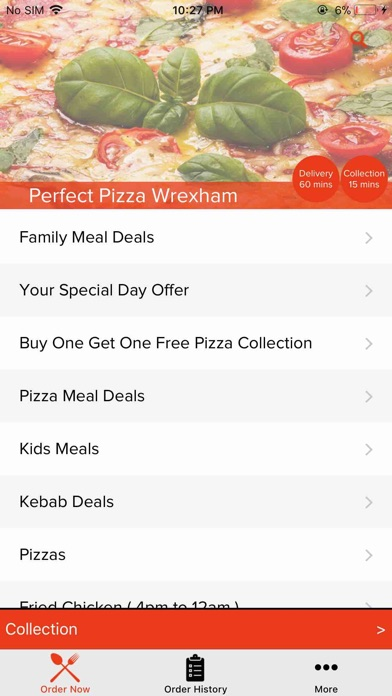 App Shopper Perfect Pizza Wrexham Food Drink