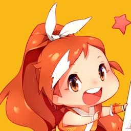 Official Crunchyroll-Hime Sticker Pack