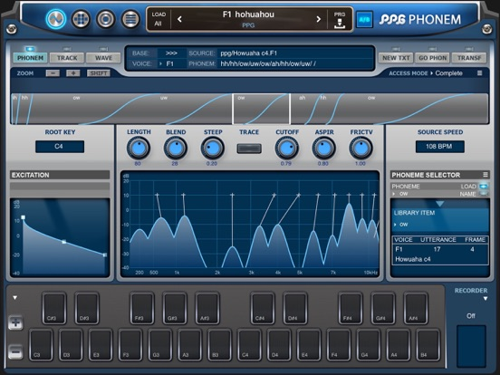 PPG Phonem Synth for iPad - iDesignSound