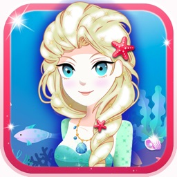 Little Mermaid Princess Dress-Up Games For Girls