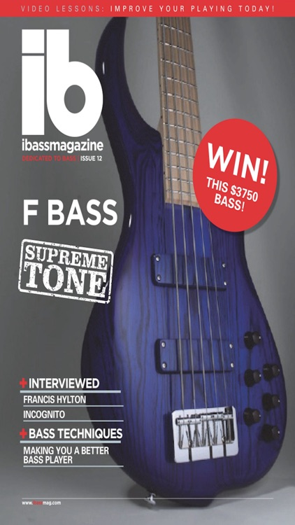 iBass Magazine - bass guitar lessons & bass gear