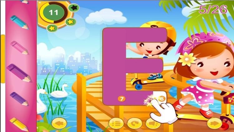 ABC Alphabet Phonics Learning Tracing for Kids screenshot-4