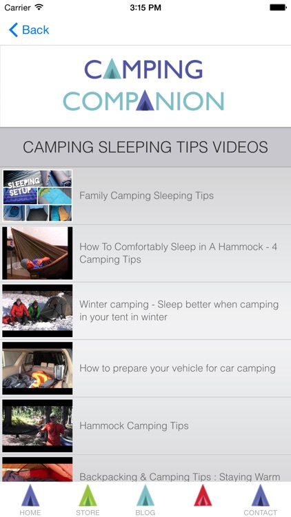 Camping Companion (for iPhone) screenshot-3