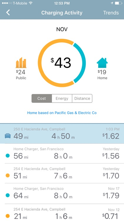 ChargePoint: Electric Vehicle Charging On the Go screenshot-4