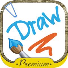 Über das Bildschirm mit dem Finger zeichnen   - Premium
