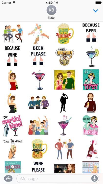 Drinking Stickers
