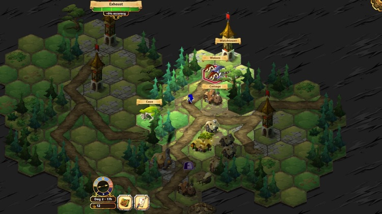 Crowntakers - The Ultimate Strategy RPG screenshot-1