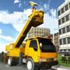 城市服务挖掘机模拟器 - 交通运输卡车司机模拟游戏