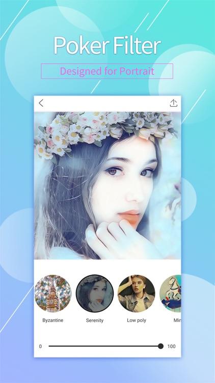 POKER - Photo Editor & Selfie Camera & Art Filters