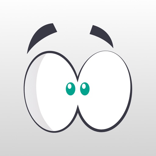 Eyemoji Crazy Eyes Stickers
