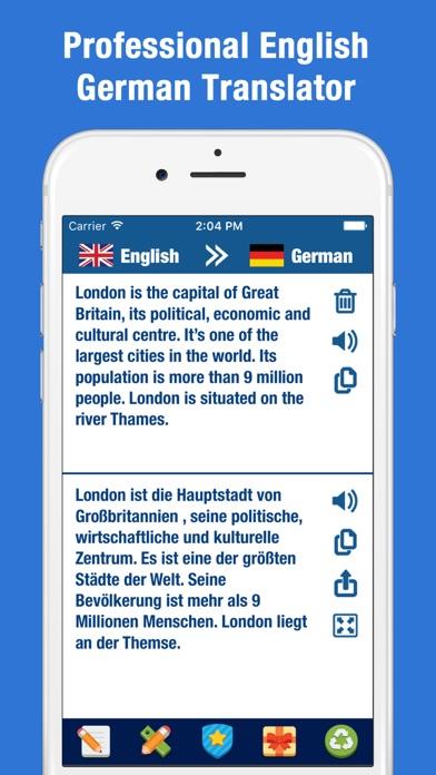 German to English Translation – Translate Words screenshot one