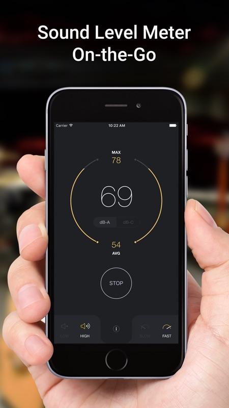 dB Decibel Meter - sound level measurement tool - Online