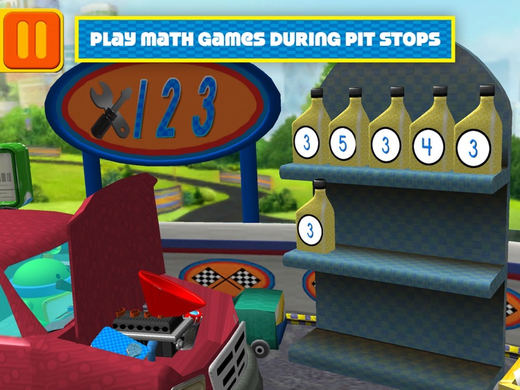 Team Umizoomi: Math Racer HD screenshot-3