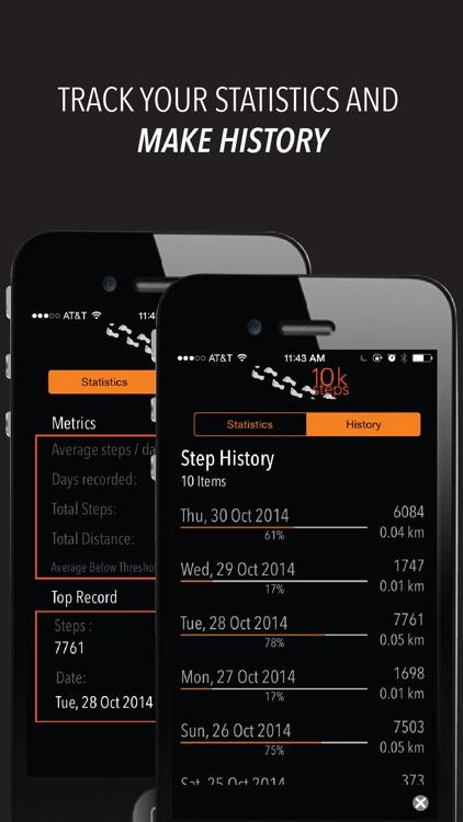 10k Steps - Daily step tracker