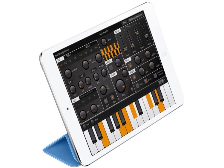 Digital Piano Sound Synthesizer: Advance Midi  Melody Full-Features iPad App screenshot-4