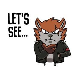 Fox Animated Sticker Pack