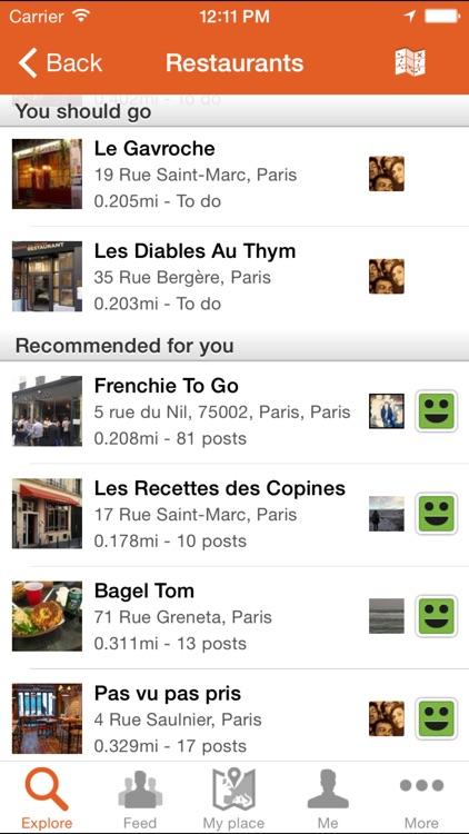 Tellmewhere : Restaurants Hotels Bars