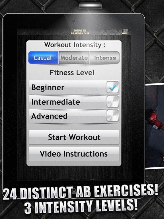 Ab Workouts MMA Free  - Core Strength Abdominal Flex Training & Personal Abs Trainer screenshot