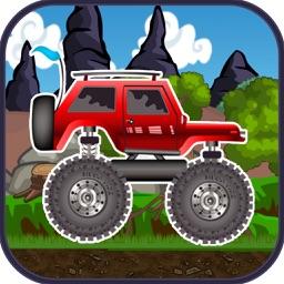 monster truck climb : free car racing games