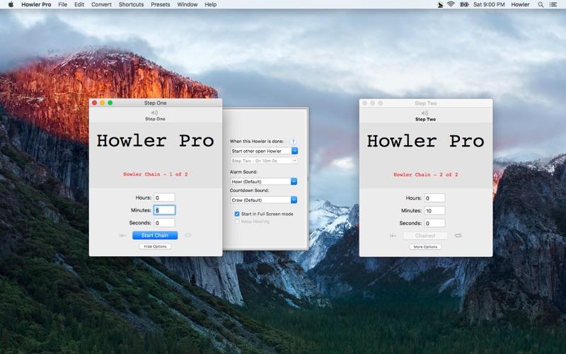 Howler Pro Screenshot